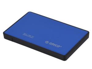 Orico 2.5 USB3.0 External HDD Enclosure - Blue
