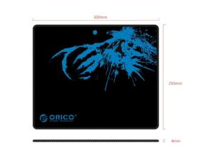 Orico Multispandex Rubber 300x250 Mousepad - Black