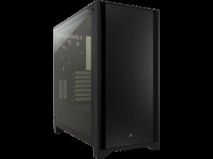 Corsair 4000D Tempered Glass Black Mid-Tower ATX Desktop PC Case