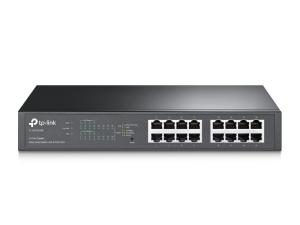 TP-Link 16-Port Gigabit Easy Smart PoE Managed Switch with 8-Port PoE+