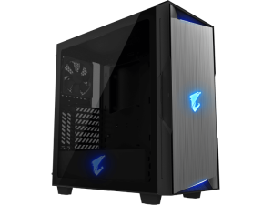 Gigabyte C300 Aorus Glass ATX Mid Tower Black PC Case