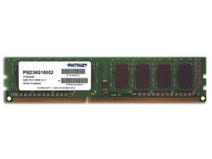 Patriot Signature Line 8GB DDR3 1600MHz Desktop Single Rank