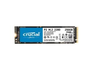 Crucial P2 250GB 3D PCIE NVME M.2 SSD
