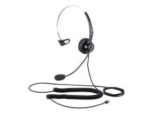 Calltel T800 Mono-Ear Noise-Cancelling Headset - RJ9 Reverse