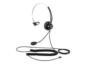 Calltel T800 Mono-Ear Noise-Cancelling Headset - Dual 3.5mm Jacks