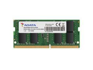 ADATA 8GB DDR4 2666MHz (PC4-21300) SODIMM 260-Pin Laptop Memory Module Single Rank
