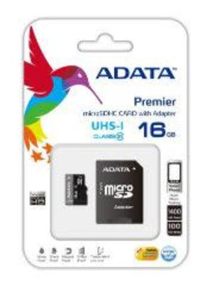 Adata Premier MicroSDXC 16GB Memory Card with Adapter