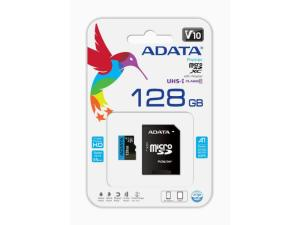 ADATA Premier 128GB MicroSDXC Class Memory Card with Adapter