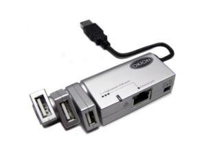 Okion CHB265U2 High Speed USB & Ethernet Docking Station