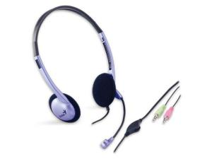 Genius HS-02B Stereo Headset with Microphone