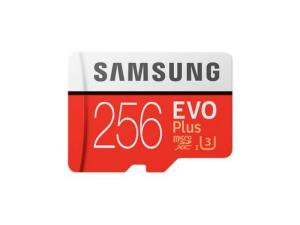Samsung EVO Plus MicroSDXC 256GB Memory Card with Adapter