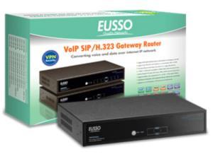 Eusso 2-Fxs+2-Fxo-Port Voip W/Vpn Router