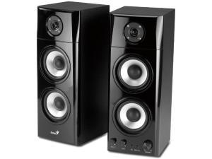 Genius SP-HF1800A Wooden 2.0 Floor Standing PC Speakers  50 W RMS