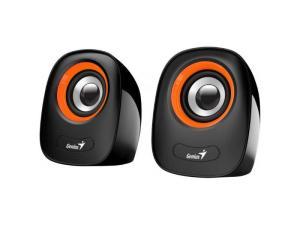 Genius SP-Q160 Orange Speaker