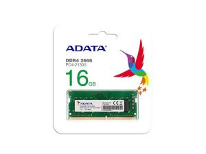Adata 16GB SO-DIMM DDR4 PC-2666Mhz CL19 for Laptops