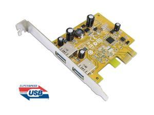 Sunix USB2302 USB 3.0 Dual ports PCI Express Host Controller