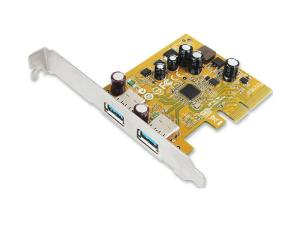 Sunix USB2312 USB 3.1 Enhanced SuperSpeed Dual ports PCI Express Host Card with Type-A Receptacle
