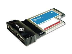 Sunix ECSA24 SATA II 2 channels ExpressCard