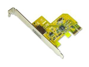 Sunix SATA0014 1x External SATA PCI-express Card