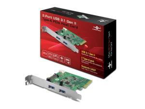 Vantec UGT-PC370A 2-Port USB 3.1 Gen II Type-A PCI-Express Card