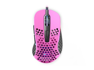 XTRFY M4 RGB Pink Ultra-Light Weight 69g 16 000dpi Gaming Mouse