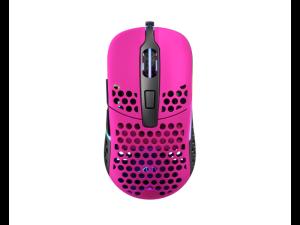 XTRFY M42 RGB Pink Ultra-Light Weight 59g 16 000dpi Gaming Mouse