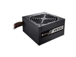 Corsair VS Series VS500 500W 80 PLUS White Certified Power Supply
