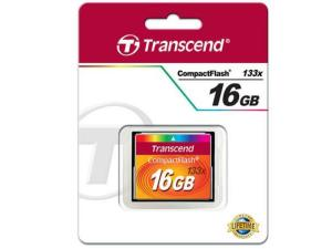 Transcend 16GB CompactFlash Memory Card 133x Speed