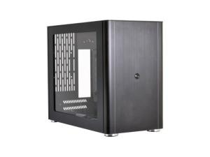 LIAN LI PC-Q38WX Black Aluminum Mini-ITX PC Case