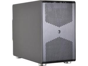 LIAN LI PC-Q50X Black Aluminum MINI-ITX PC Case
