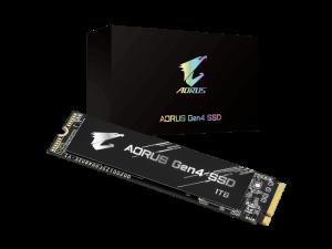 Gigabyte Aorus 1TB NVMe PCI-E Gen 4 (without heatsink) M.2 2280 Solid State Drive