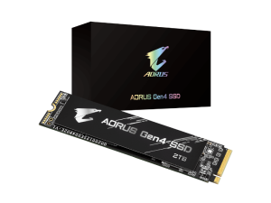 Gigabyte Aorus 2TB NVMe PCI-E Gen 4 (without heatsink) M.2 2280 Solid State Drive