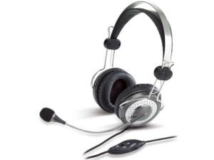 Genius HS-04SU Headband headset with Noise-canceling microphone