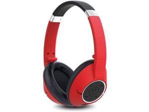 Genius HS-930BT Head-band Binaural Wireless Mobile Headset - Red