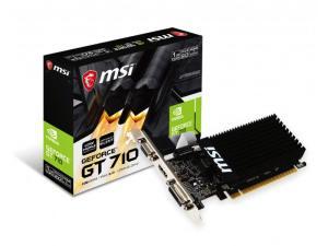 MSI Geforce GT 710 LP 1GB DDR3 64 Bit Graphics Card