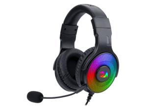 Redragon Pandora USB Vitrual 7.1 RGB  In-Line Controller Gaming Headset - Black