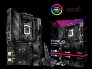 Asus ROG Strix B560-G Gaming WiFi Intel LGA 1200 Socket Micro-ATX Desktop Motherbaord