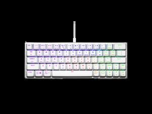 Cooler Master SK620 RGB Low Profile White Mechanical Wired Gaming Keyboard