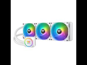 Thermaltake TH360 ARGB Sync 360mm Snow Edition AIO Closed Loop Liquid CPU Cooler