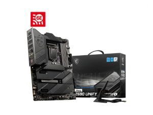 MSI MEG Z590 Unify Intel LGA1200 Socket ATX Desktop Motherboard