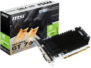 MSI nVidia Geforce GT 730 2GB DDR3 PCI Express 2.0 low profile Graphics card