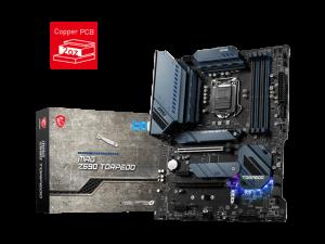 MSI MAG Z590 TORPEDO Intel 1200 Socket PCI-E Gen 4.0 Desktop Motherboard