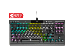 Corsair K70 RGB TKL CHAMPION SERIES CHERRY MX Red Mechanical Gaming Keyboard