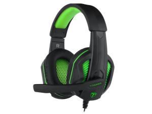 T-Dagger Cook 3.5mm Gaming Headset - Black/Green