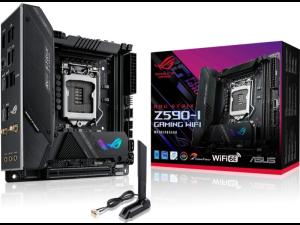 Asus ROG STRIX Z590-I GAMING WIFI intel 1200 Socket ATX Desktop Gaming Motherboard