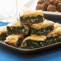 Spinach and  Feta Pie KG