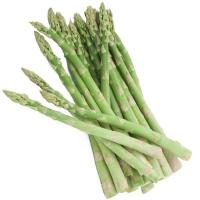 Young Asparagus Bunch