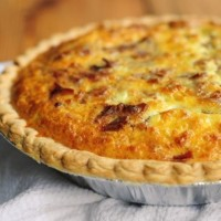 Bacon and Cheese Quiche 4...