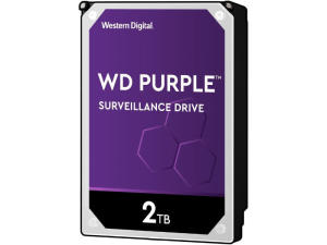 Western Digital WD20PURZ Purple 2TB Surveillance 3.5'' Hard Drive