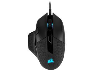 Corsair CH-9306011 Nightsword RGB Tunable FPS/MOBA Gaming Mouse Black